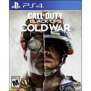 Ps4 call of duty: black ops cold war.