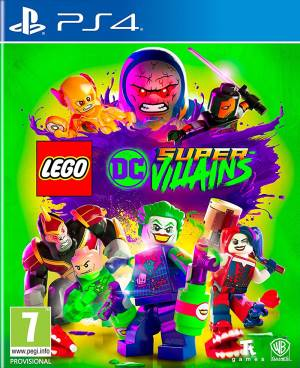 Ps4 lego dc super villains