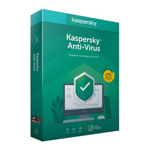 SOFTWARE KASPERSKY ANTIVIRUS 1PC - 1 ANNO