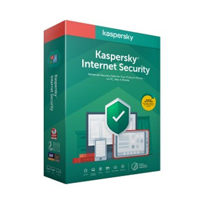SOFTWARE KASPERSKY INTERNET SECURITY 3PC - 1 ANNO RINNOVO