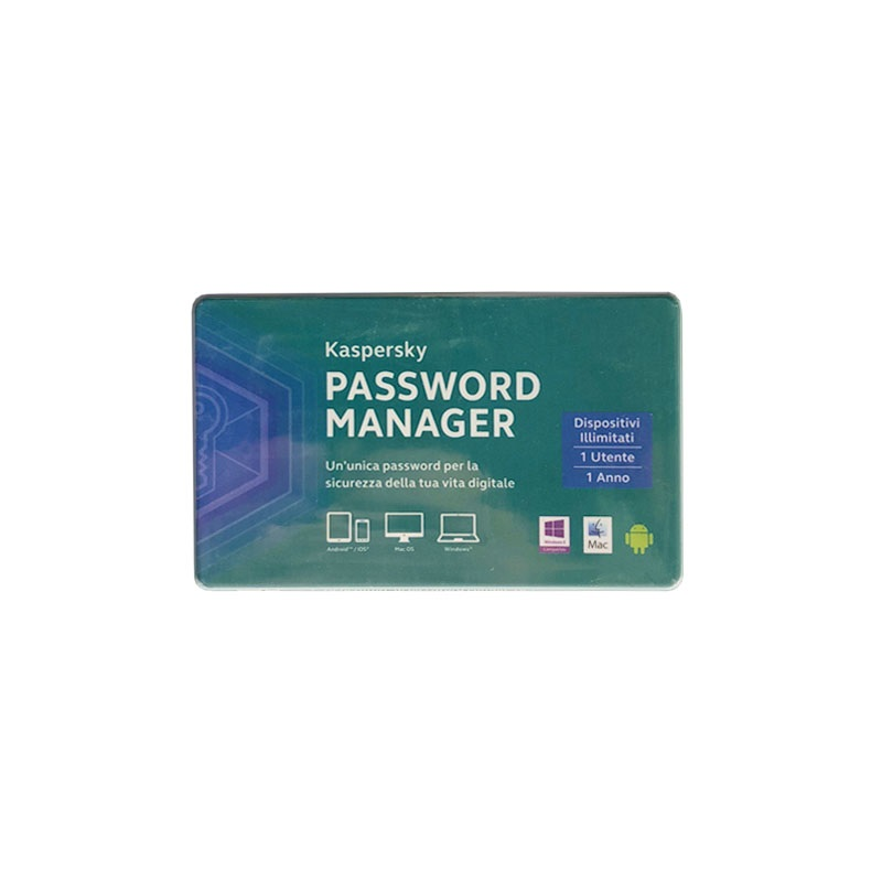 KASPERSKY PASSWORD MANAGER 1 ANNO 1 UTENTE KL1956TOAFS