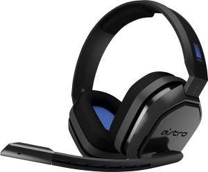 Ps4 astro a10 gaming headset ps4+pc grey/blue.