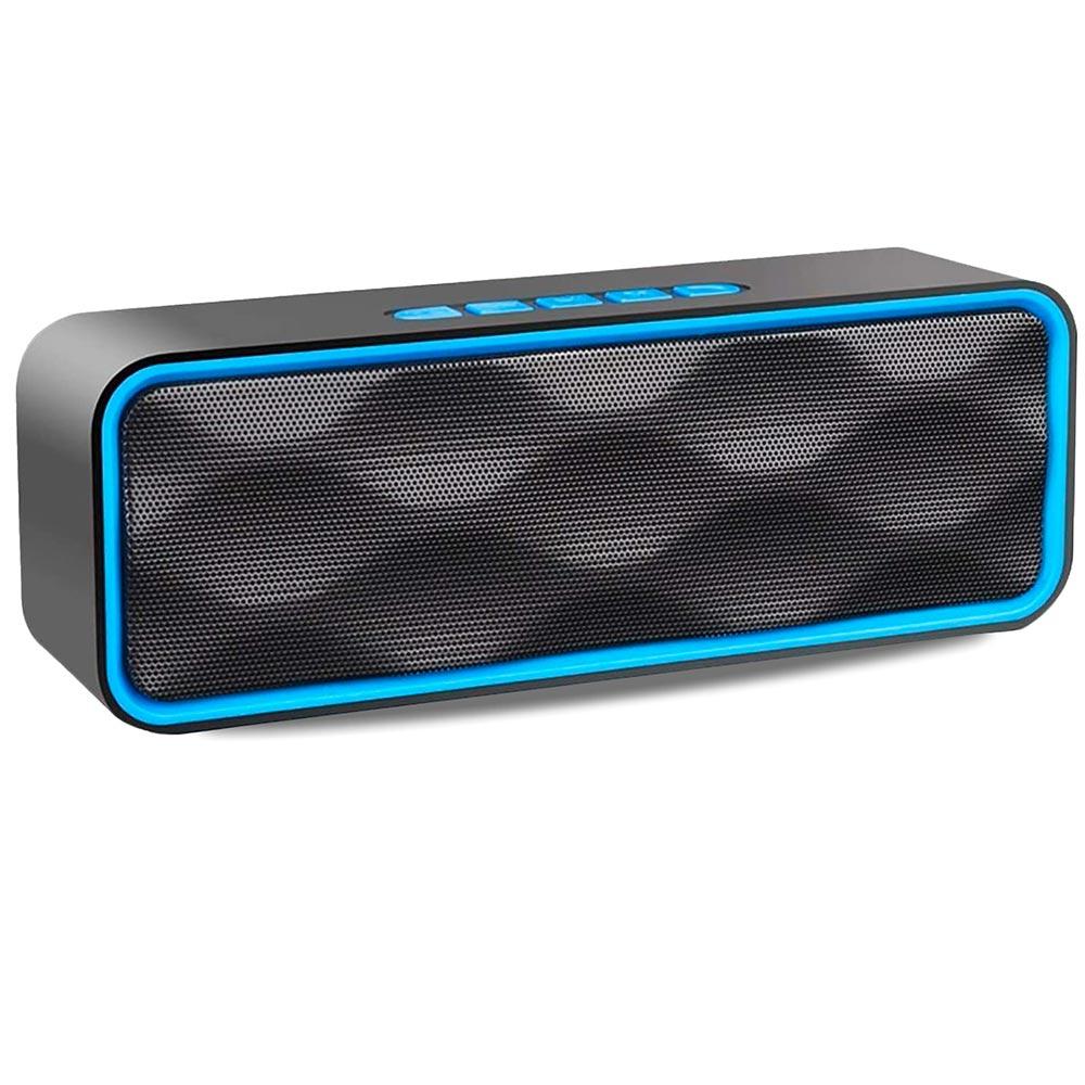 Altoparlante portatile con vivavoce integrato speaker bluetooth, usb, sd, aux