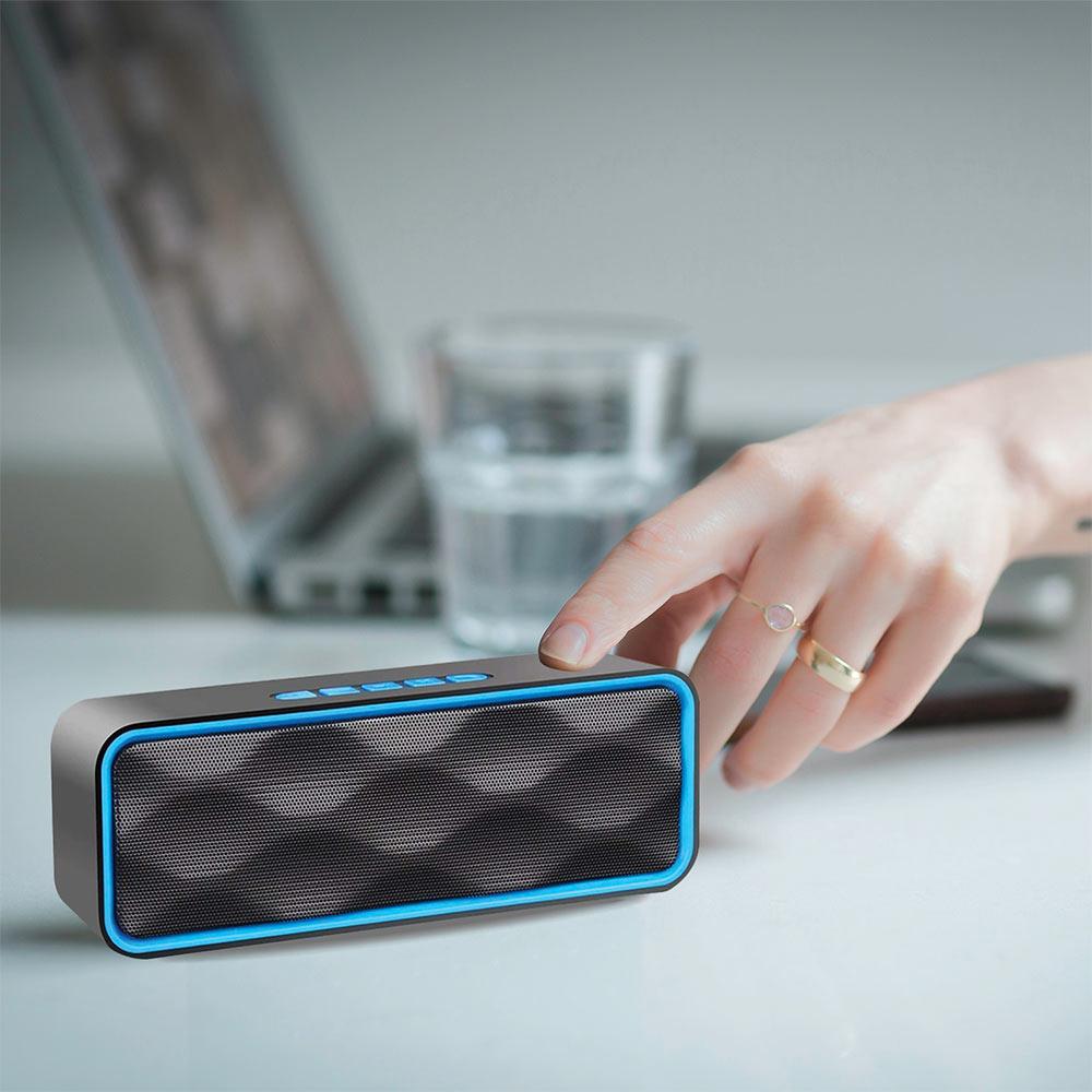 Altoparlante portatile con vivavoce Integrato speaker bluetooth, usb, sd, aux foto 5