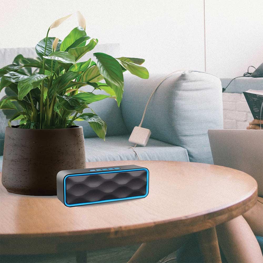Altoparlante portatile con vivavoce Integrato speaker bluetooth, usb, sd, aux foto 6