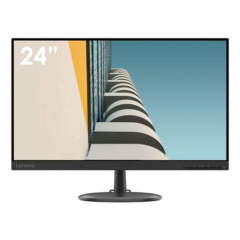Monitor lenovo c24-20 da 24 pollici w-led fullhd vga hdmi 6ms borderless