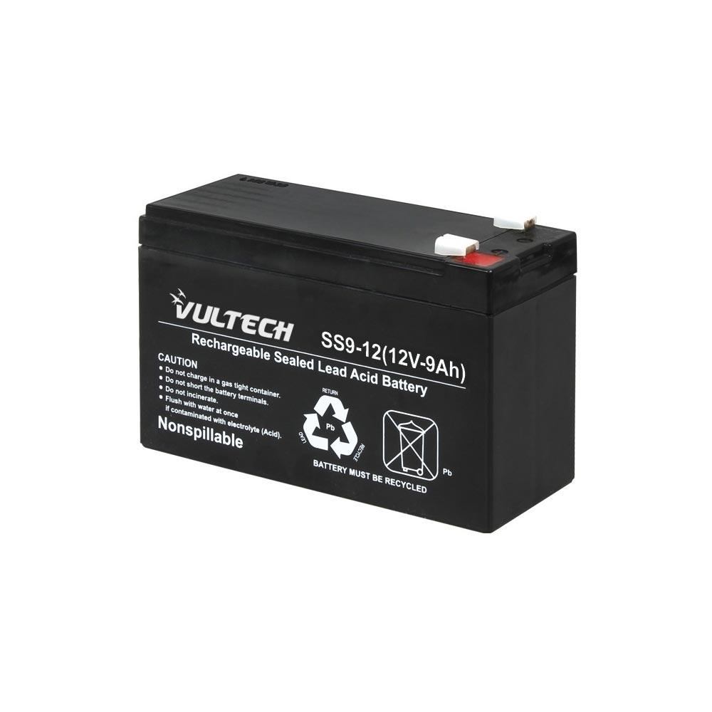Batteria Vultech GS-9AH ermetica Al Piombo 12V 9A per UPS dispositivi elettrici foto 2