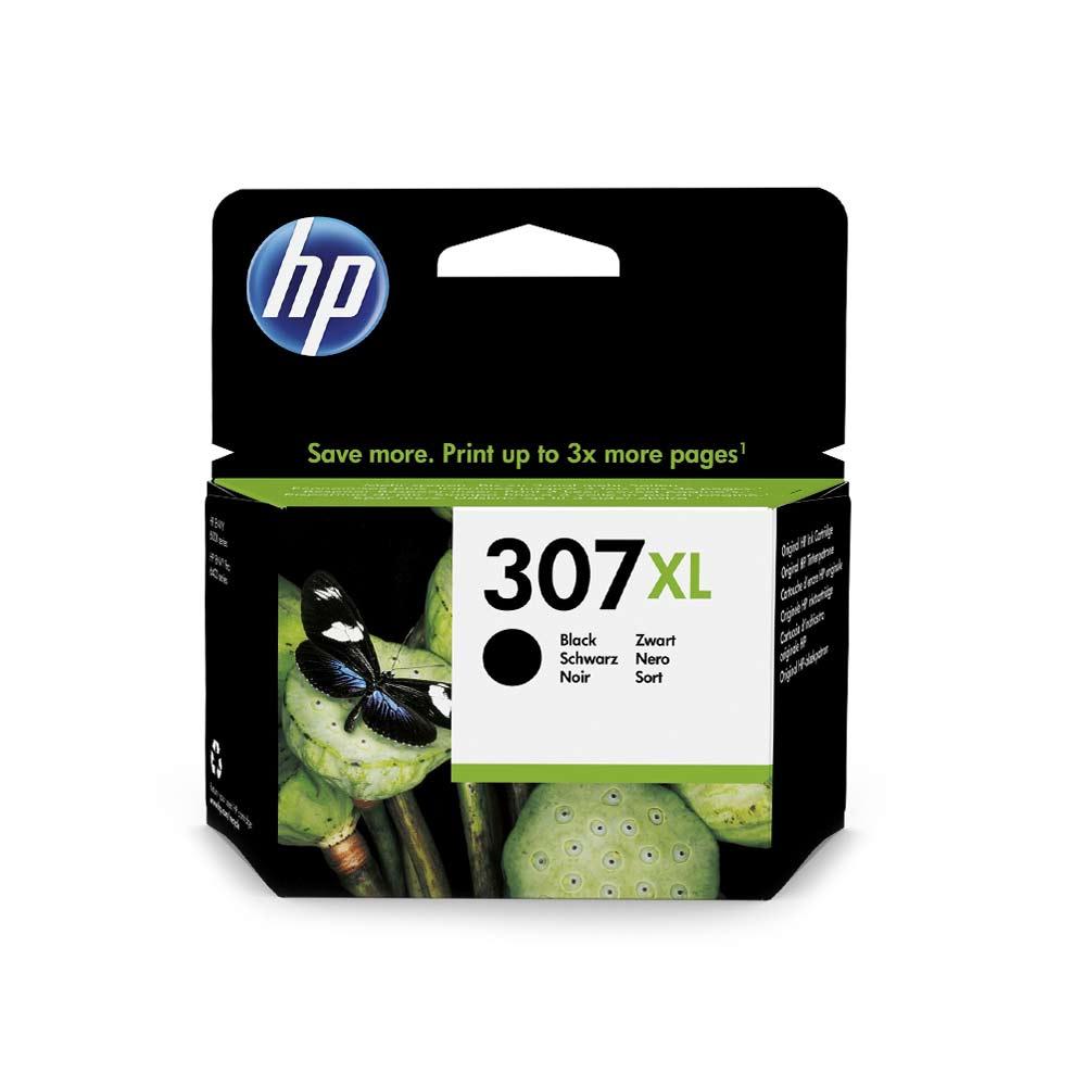 Cartuccia originale HP 307XL inchiostro nero alte prestazioni di stampa 3YM64AE