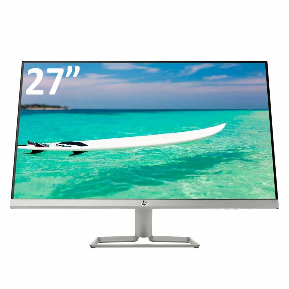 Monitor hp 27 pollici risoluzione 1920x1080 vga hdmi pannello led ips 5ms