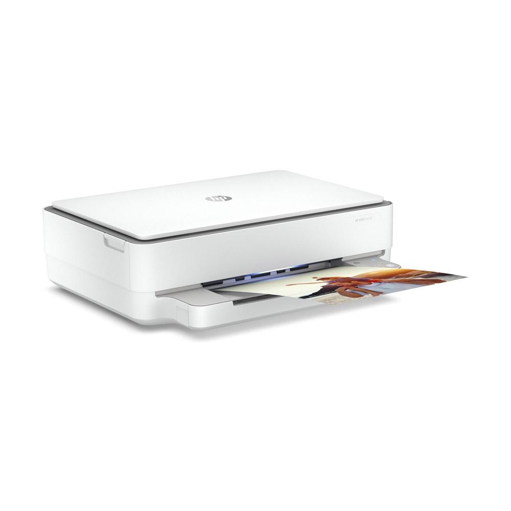 Stampante HP Envy 6030 AiO inkjet wi-fi fronte retro automatico stampa A4,A5,A6  foto 3