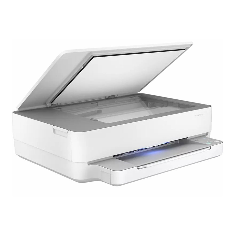 Stampante HP Envy 6030 AiO inkjet wi-fi fronte retro automatico stampa A4,A5,A6  foto 5
