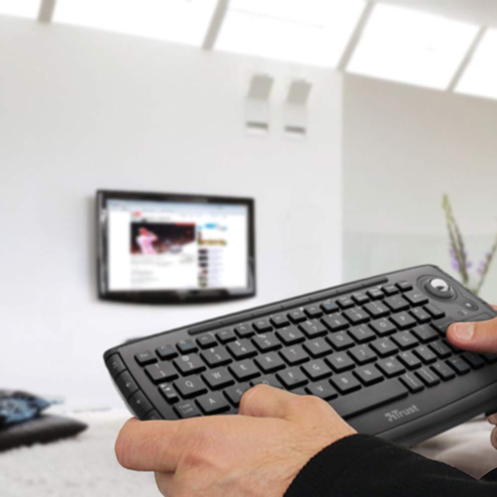 Tastiera con trackball Trust Compact Adura per Smart TV Wireless fino a 10m foto 4