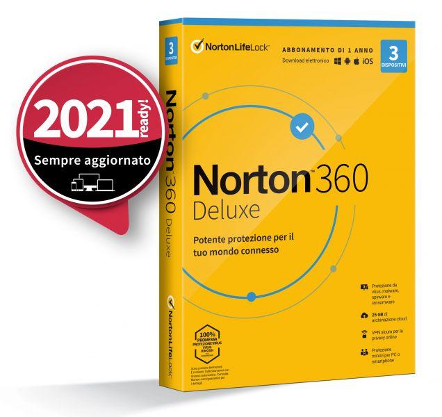 INT.SEC. 1DEV 1Y 2020 10GB NORTON 360 STANDARD foto 2