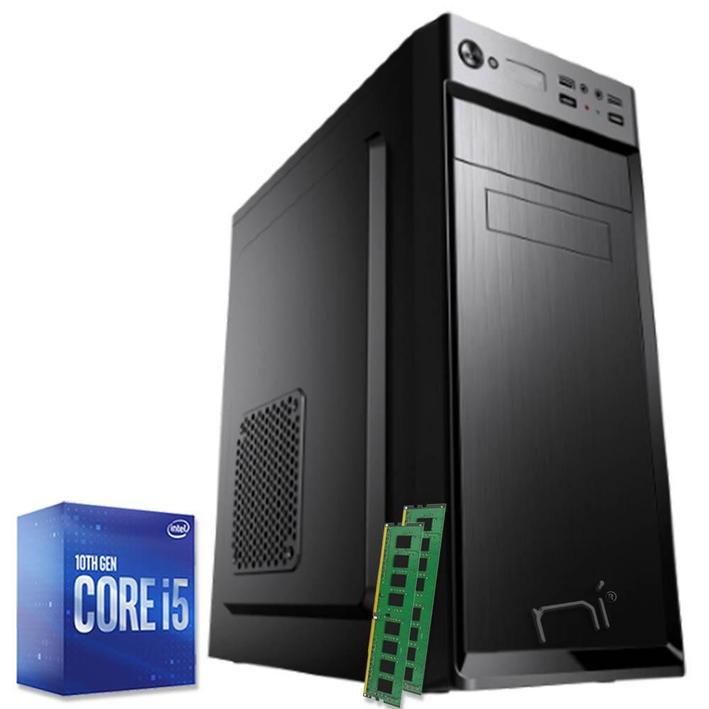 Pc fisso completo Intel i5-10400 hexa-core 16gb ram hard disk 1TB WiFi HDMI foto 2