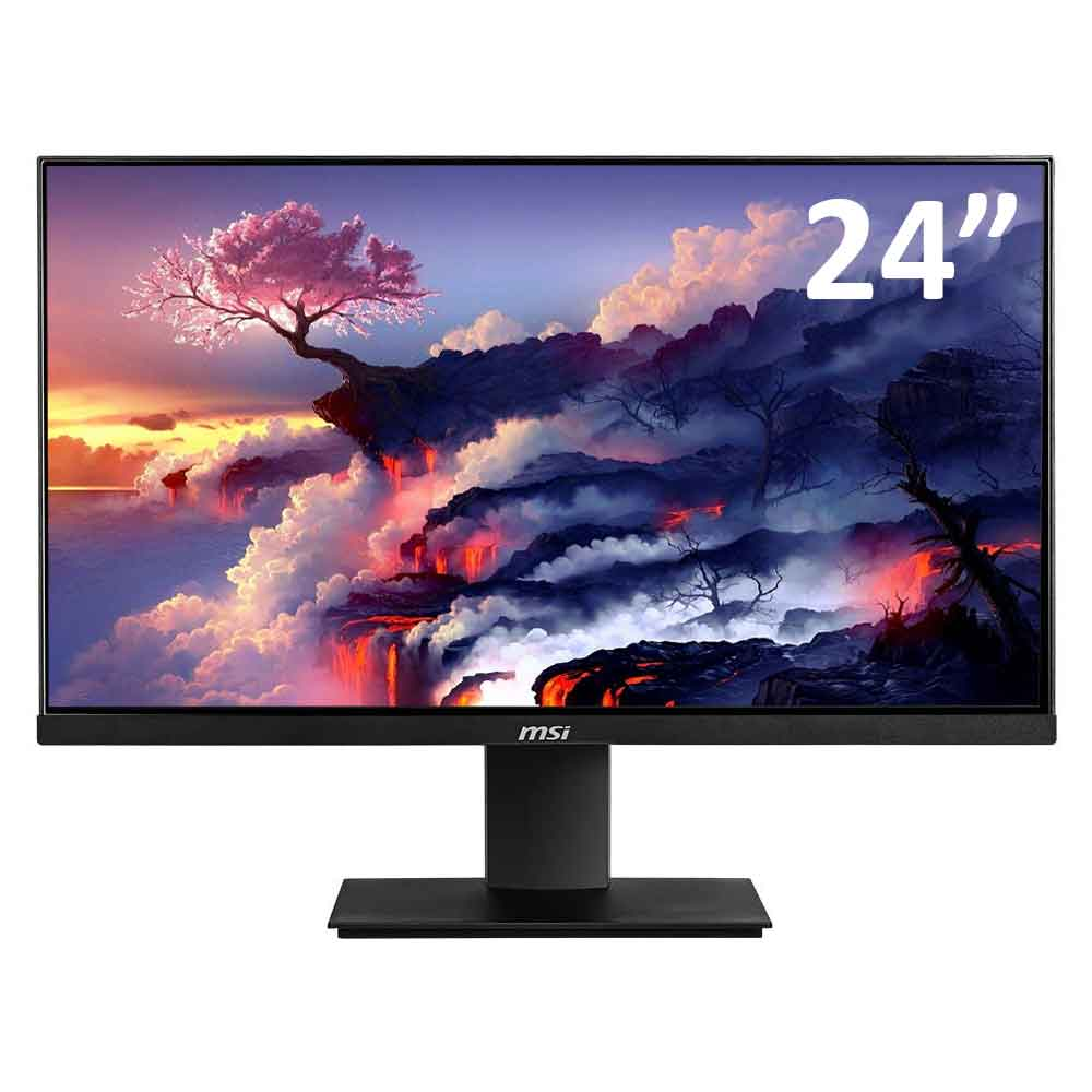 Monitor msi mp241 da 24 pollici lcd 1920x1080 fullhd vga hdmi 7ms