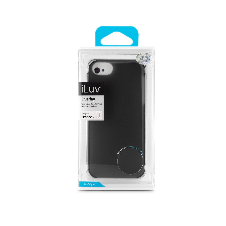 COVER ILUV OVERLAY BLACK ICA7H305BLK PER IPHONE 5 - 5S - SE