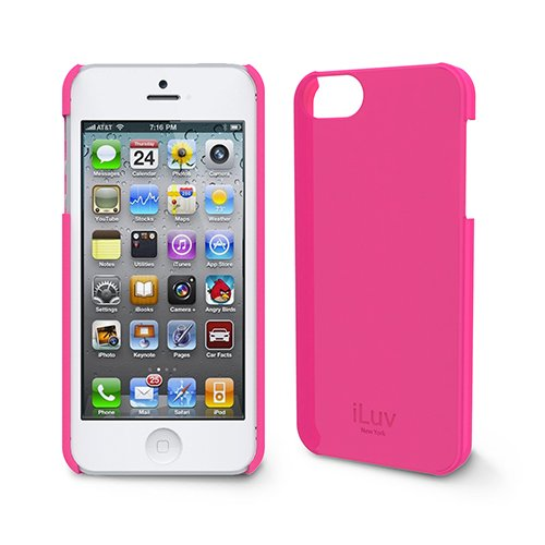 COVER ILUV OVERLAY PINK ICA7H305PNK PER IPHONE 5 - 5S - SE foto 2