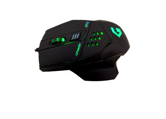 Gammec mogp02 mouse gaming a 6 tasti programmabile ergonomico