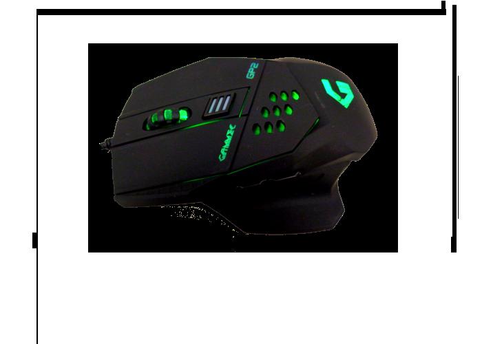 GAMMEC MOGP02 Mouse Gaming a 6 tasti programmabile ergonomico foto 2