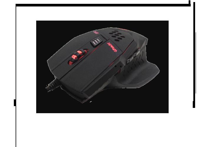GAMMEC MOGP02 Mouse Gaming a 6 tasti programmabile ergonomico foto 3