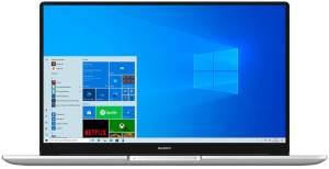 HUAWEI MateBook D 15.6 Intel Core i5-10210U 8GB/256SSD/W10H Silver foto 2