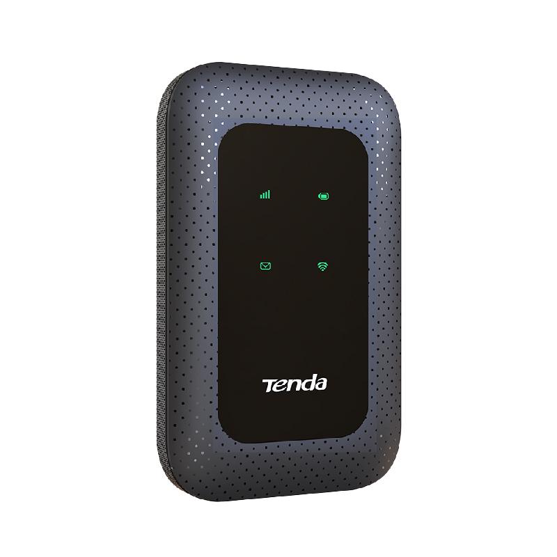 ROUTER TENDA 4G180 V2- 150Mbps Wireless 4G LTE batteria 2100mAh SLOT SIM foto 2