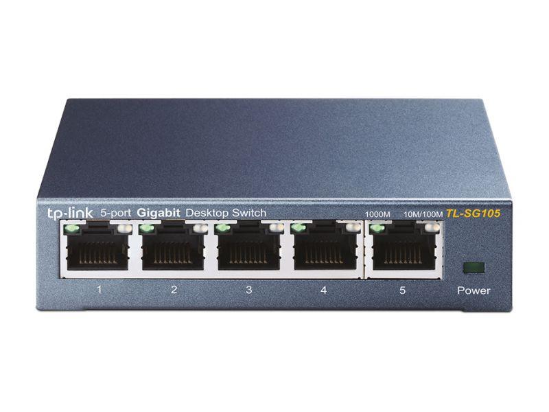 SWITCH GIGABIT 5PT TL-SG105 METAL