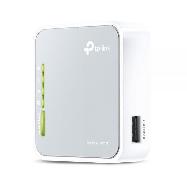 ROUTER TP-LINK TL-MR3020 USB-3G/4G WIRELESS PORTATILE 150MBPS