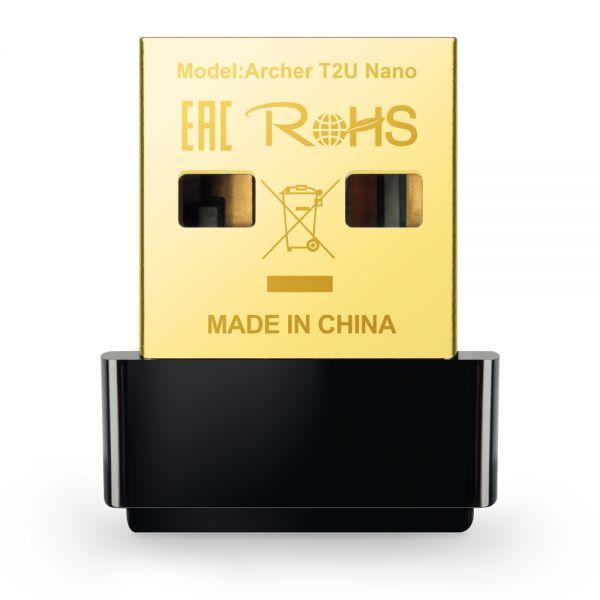 SCHEDA AC600 WIFI USB MINI SIZE USB 2.0 1 ANTENNA INTERNA foto 2