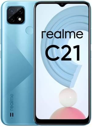 Realme c21 4+64gb 6.5 cross blue ds eu