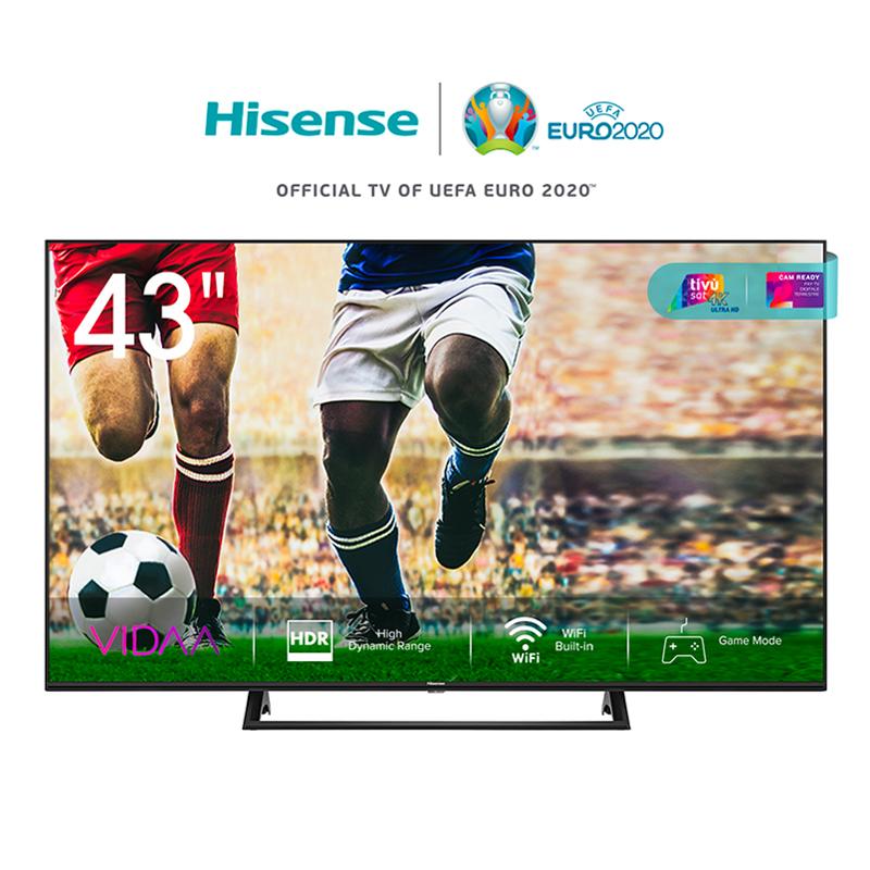 Hisense 43 led 43a7300f 4k ultra hd smart tv