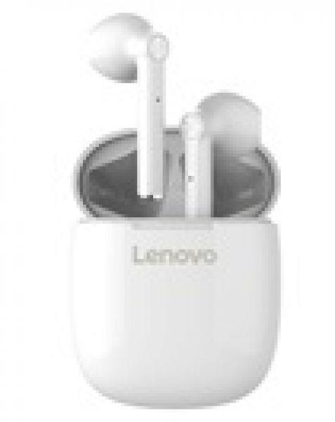 AURICOLARI BLUETOOTH 5.0 LENOVO IPX5 WATER RESISTANT HT30 WHITE