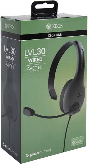 Xbox one pdp lvl30 chat headset black
