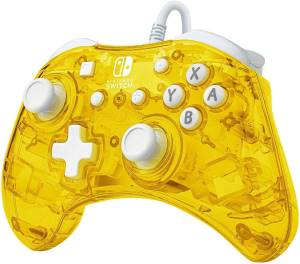Switch pdp wired controllerrock candy mini pineapple pop