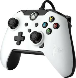 Xbox serie x pdp wired controller white