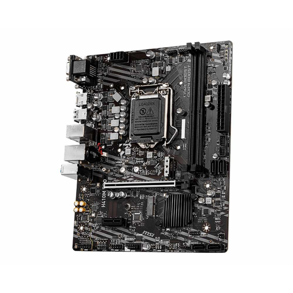 Scheda Madre socket intel LGA 1200 msi pro series H410M-PRO foto 2