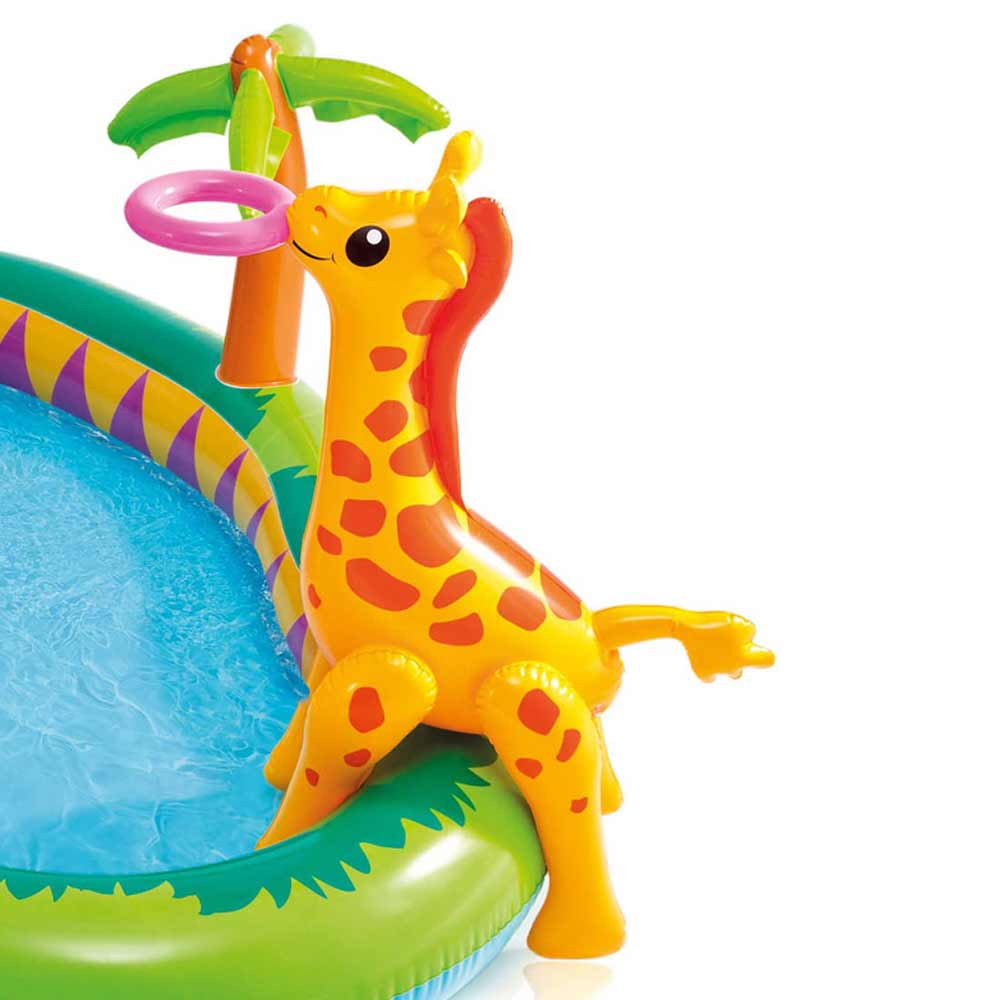 Piscina gonfiabile playcenter giungla Intex per bambini 216x188x124 cm - 57155 foto 5