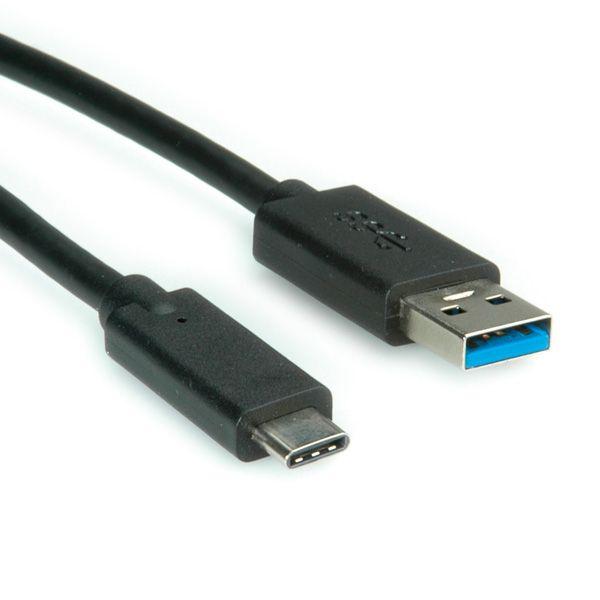 CAVO USB 3.1 A-C 1MT M/M TYPE C VALUE foto 2