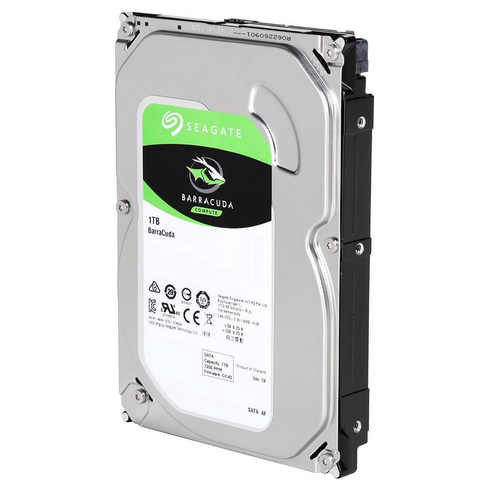 HARD DISK INTERNO SEAGATE ST1000DM010 3.5 1TB SATA 3 - BARRACUDA