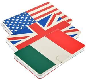Majestic custodia tablet 7 universale con tastiera bandiera usa