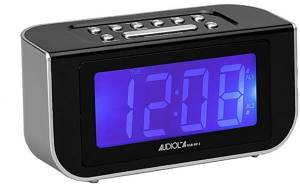 Audiola radiosveglia rsb-0912 am/fm 2 allarmi black/silver