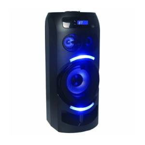 Majestic dj party speaker djb-273 bt/usb/aux/radio 60w black