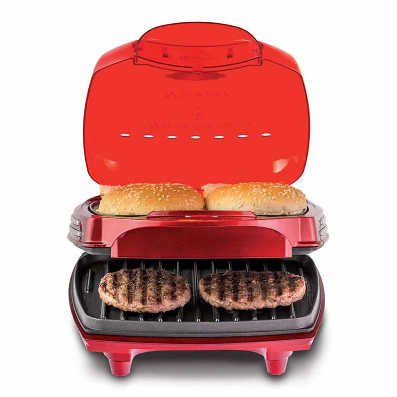 Piastra di cottura per hamburger ariete 185 hamburger maker 1200 watt