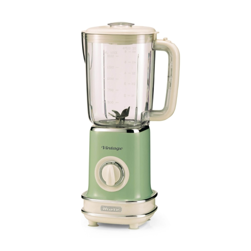 Frullatore ariete 0568 vintage blender 1,5 lt 500w verde