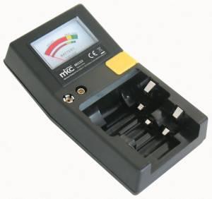 Mkc test universale prova batterie cilindriche + bottone + 9v