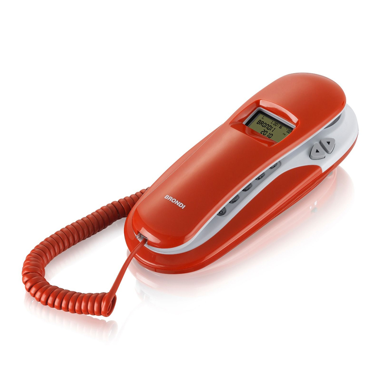 Telefono Brondi Kenoby CID Rosso/Bianco foto 2