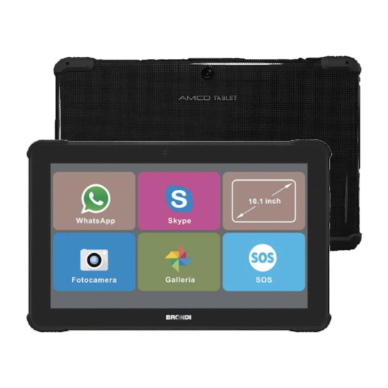 Brondi amico tablet 10,1 1+8gb wi-fi+cellular nero