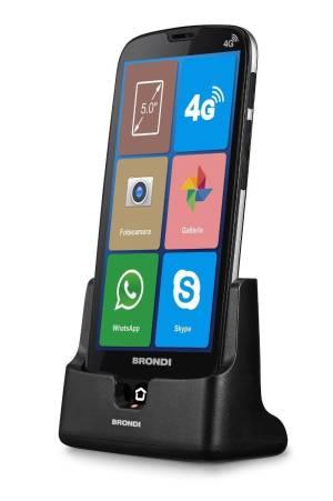 Brondi amico smartphone xs 5.0 nero ds ita