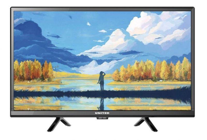 TV 24 UNITED LED24H44 HD HDMI HEVC DVBT2 H265 DVBT2 foto 2