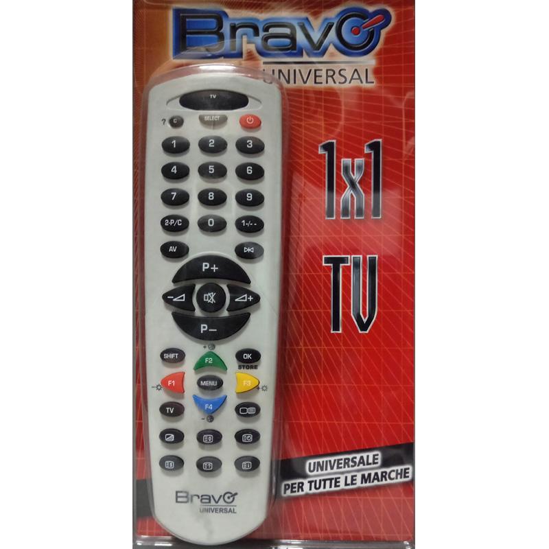 TELECOMANDO DEDICATO BRAVO ORIGINAL 6 - TELEFUNKEN / VESTEL 90202052